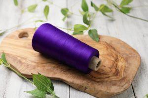 CDPポリエステルウーリー 200T 紫